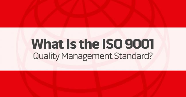 ISO 9001 Quality Management Standard Image