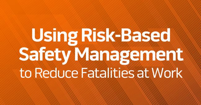Risk-Based Safety for Fatality Prevention Image