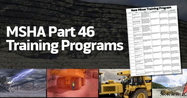 MSHA Training Program Image