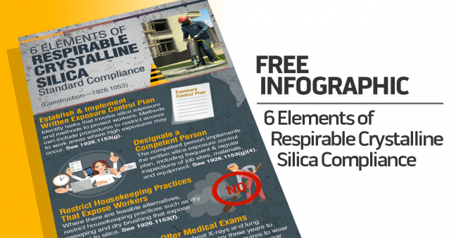Silica Construction Compliance Infographic Image