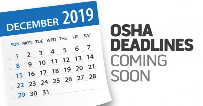 OSHA Deadlines Image