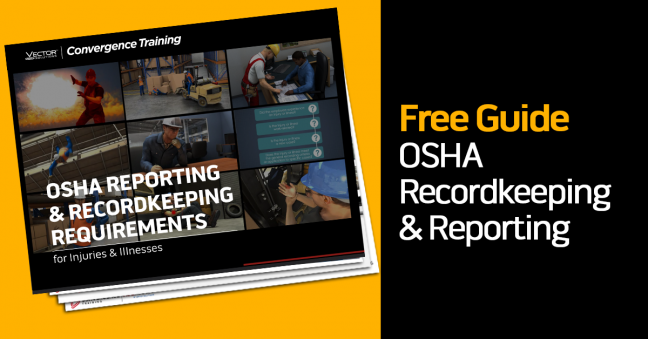 OSHA Reporting and Recordkeeping Guide Image