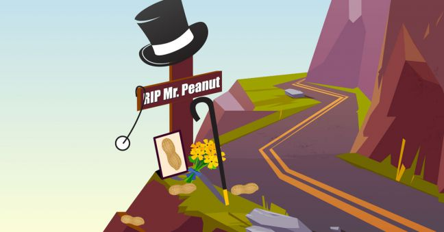 RIP Mr. Peanut Image