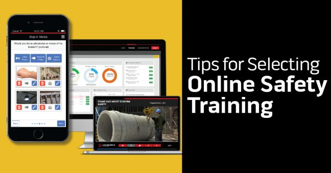 Selecting Online Safety Training Tips Image