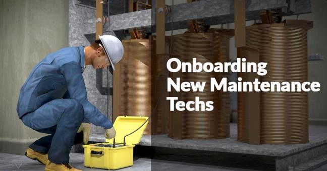 Onboarding Maintenance Techs Image