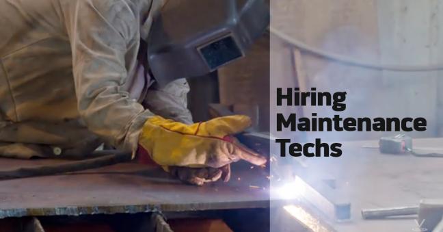 Hiring Maintenance Techs Image