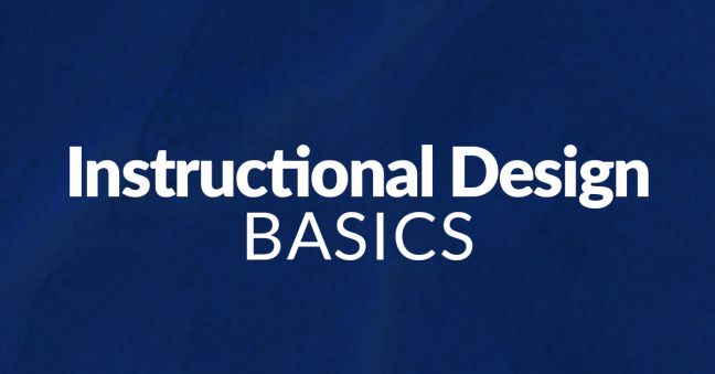 Instructional Design Basics Image