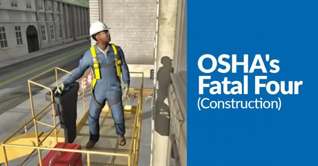 OSHA Fatal Four Image