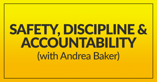 Safety, Discipline & Accountability Image
