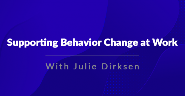 Behavior Change Image