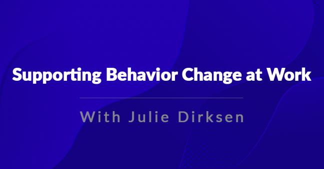 Behavior Change Image