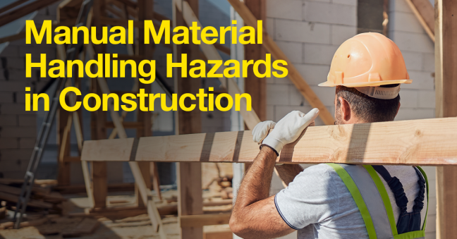 Construction Manual Material Handling Hazards Image