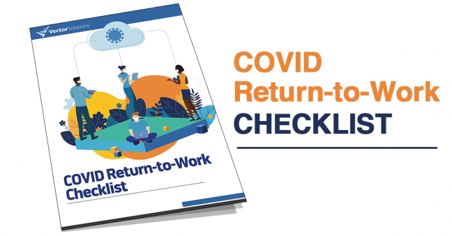 COVID Return to Work Checklist Image