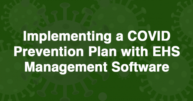 COVID Prevention & EHS Management Image