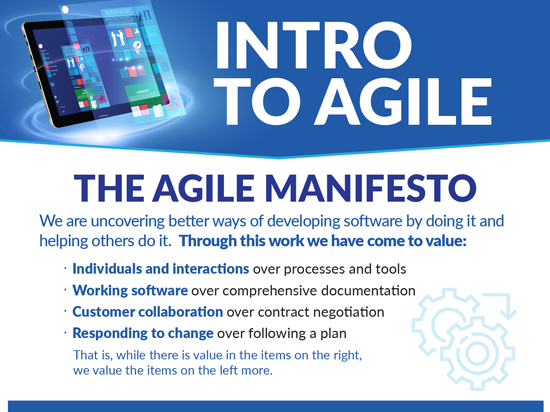 Intro to Agile Project Management Infographic Btn