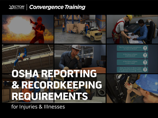 OSHA Reporting & Recordkeeping Guide Button