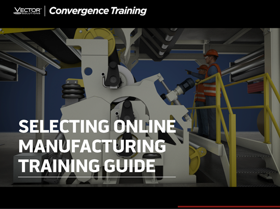 Selecting Online Manufacturing Training Guide Button