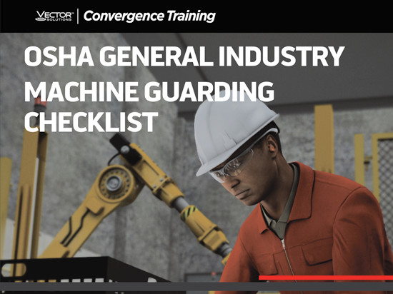 OSHA 1910 General Industry Machine Guarding Compliance Checklist Button