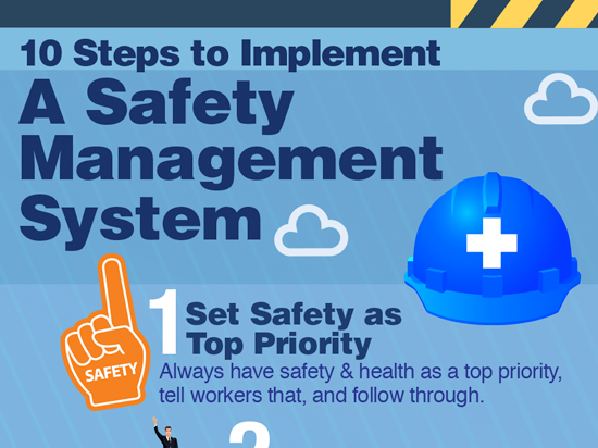 Start with Safety Management Infographic Button