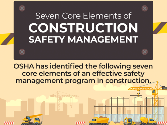 Seven Core Elements of Construction Safety Management Button