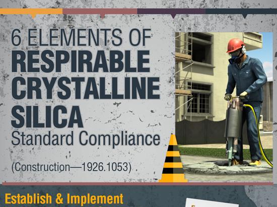 OSHA 1926 Silica Construction Compliance Infographic Button
