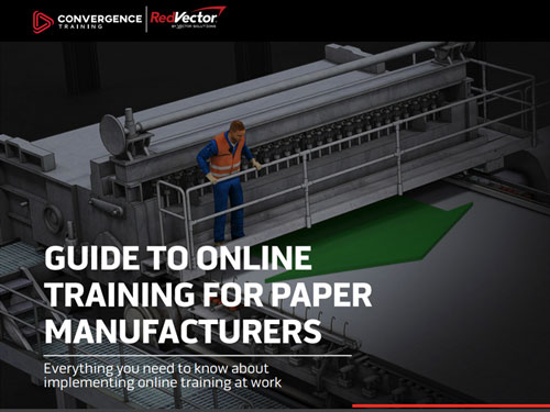 Paper Manufacturing Online Training Guide Button Image
