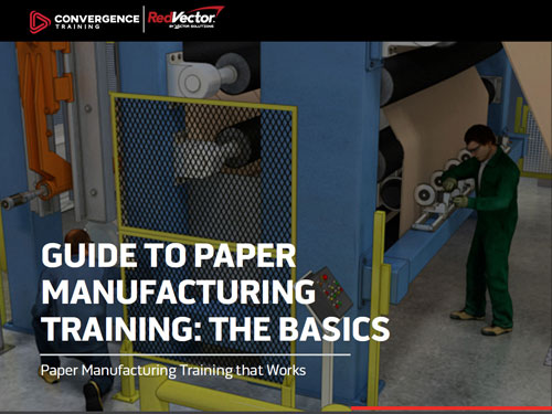 Paper Manufacturing Training Guide Button