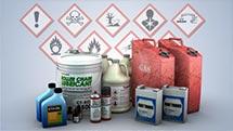 Hazardous materials classification - screenshot from Convergence video
