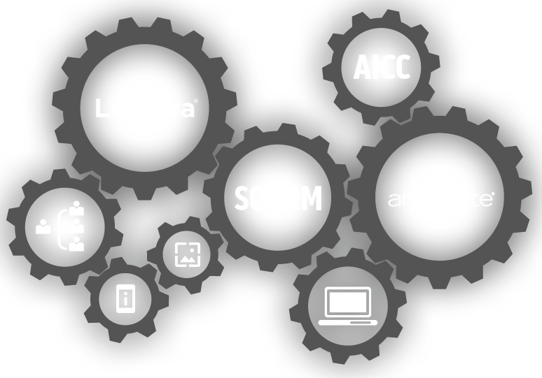 Deliver our industrial eLearning courses via SCORM or AICC.