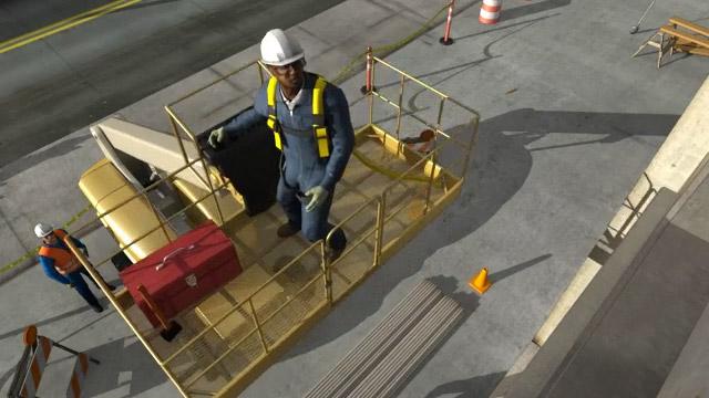 Aerial Work Platform Safety Video Convergence Training