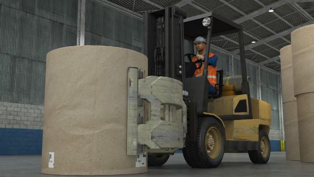 Clamp Trucks Reducing Paper Roll Damage Training