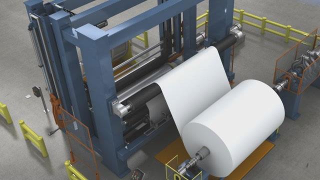 Paper Machine Winding Basics Video Convergence Pulp
